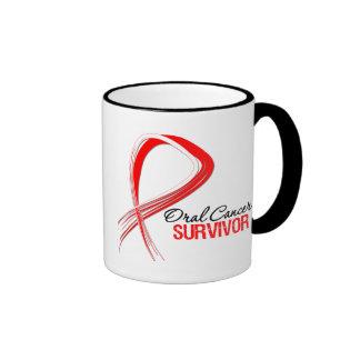 Superviviente oral del cáncer de la cinta del Grun Taza De Café