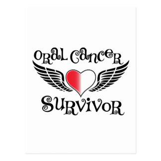 Superviviente oral del cáncer postales
