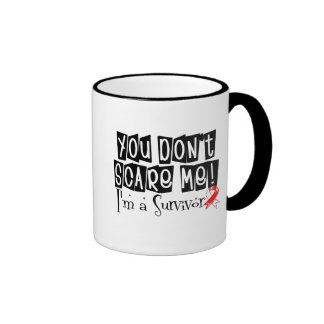 Superviviente oral del cáncer usted no me asusta taza de café