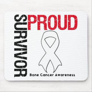 Superviviente orgulloso - cáncer de hueso tapete de ratones