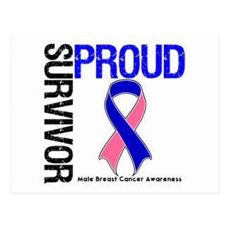 Superviviente orgulloso - cáncer de pecho tarjetas postales
