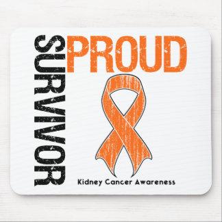 Superviviente orgulloso - cáncer del riñón (naranj tapete de ratón