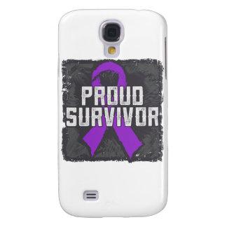 Superviviente orgulloso del cáncer del ESENCIAL Funda Para Galaxy S4