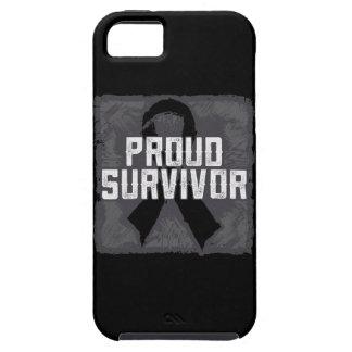 Superviviente orgulloso del melanoma iPhone 5 Case-Mate coberturas
