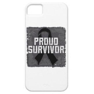 Superviviente orgulloso del melanoma iPhone 5 cárcasas