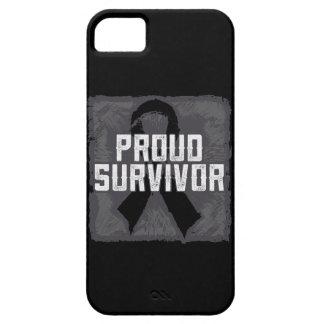 Superviviente orgulloso del melanoma iPhone 5 Case-Mate cárcasas