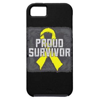 Superviviente orgulloso del osteosarcoma iPhone 5 Case-Mate funda