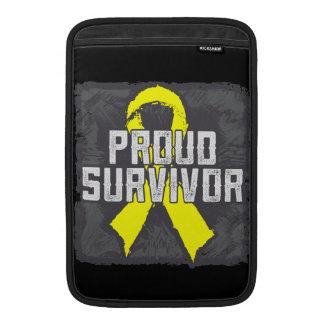 Superviviente orgulloso del osteosarcoma funda  MacBook