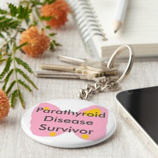 Superviviente paratiroides de la enfermedad llavero redondo tipo pin