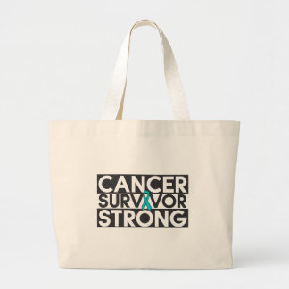 Superviviente peritoneal del cáncer fuerte bolsas de mano