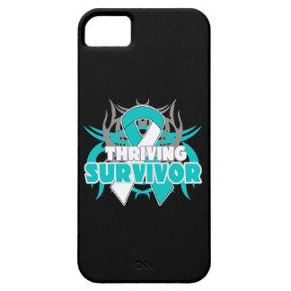 Superviviente próspero del cáncer de cuello del út iPhone 5 protector