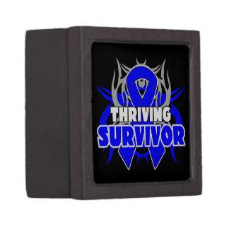 Superviviente próspero del cáncer rectal cajas de regalo de calidad