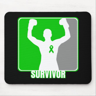 Superviviente que gana del cáncer del riñón tapete de ratones
