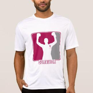 Superviviente que gana del cáncer principal del cu camisetas