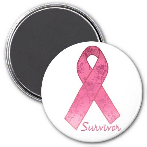 Superviviente rosado de la cinta imán de frigorifico