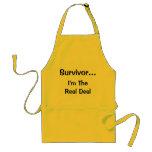 Superviviente… soy el delantal real del trato