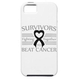 Supervivientes del melanoma que luchan junto iPhone 5 Case-Mate fundas