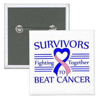 Supervivientes masculinos del cáncer de pecho que  pin