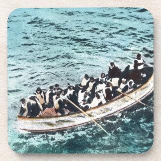 Supervivientes titánicos del RMS en vintage de los Posavaso