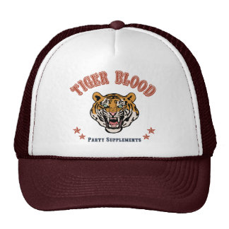Suplementos del fiesta de la sangre del tigre gorra