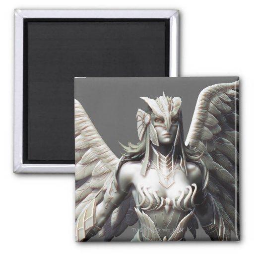 Suplente de Hawkgirl Imán Cuadrado