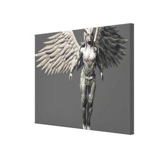 Suplente de Hawkgirl Impresión En Lona Estirada