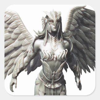 Suplente de Hawkgirl Pegatina Cuadrada
