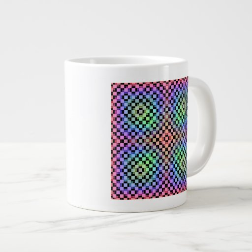 Suplente de los cuadrados tazas jumbo