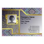 Suplente del diamante tarjetas de visita grandes