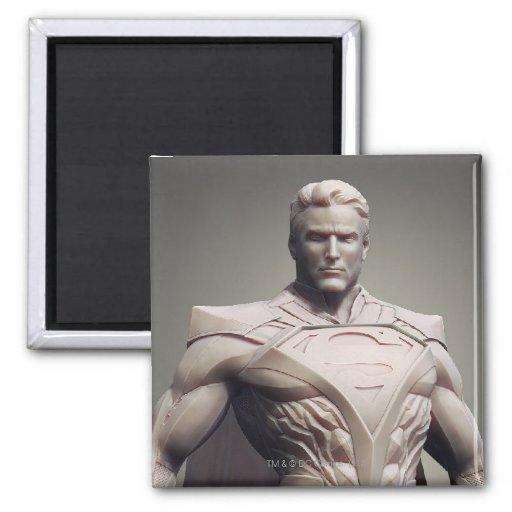 Suplente del superhombre imán de frigorifico