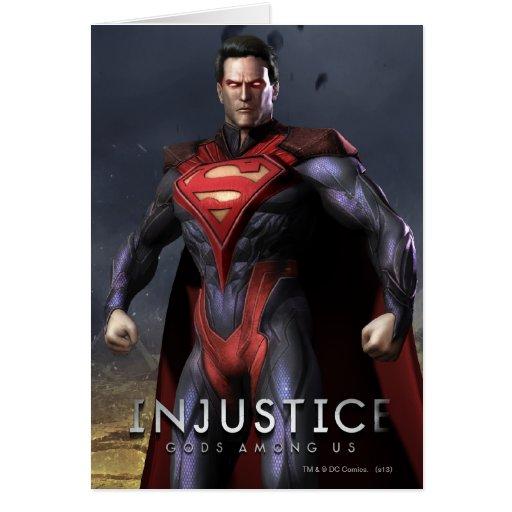 Suplente del superhombre tarjetas