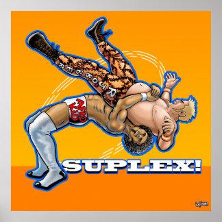 Suplex! pro wrestling poster