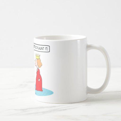Suponen a los reyes hacerlo alarde de taza de café