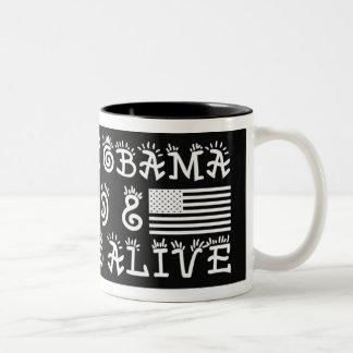 SUPORT BARACK OBAMA COFFEE MUG