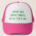 Suport Nick Jonas Trucker Hat