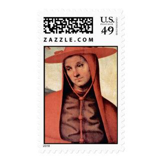 Suposición con cuatro santos de Perugino Pedro Sello
