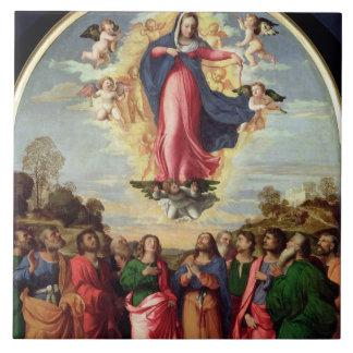Suposición de la Virgen Azulejos Ceramicos