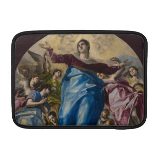 Suposición de la Virgen de El Greco Fundas MacBook