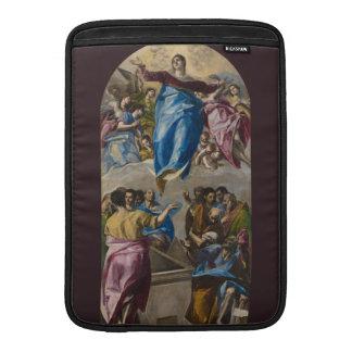 Suposición de la Virgen de El Greco Funda Para Macbook Air