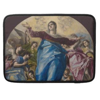 Suposición de la Virgen de El Greco Funda Macbook Pro