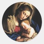 Suposición del Virgen María Pegatinas