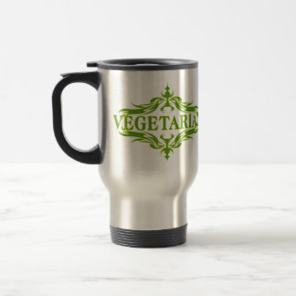 Suposición en el verde - vegetariano tazas