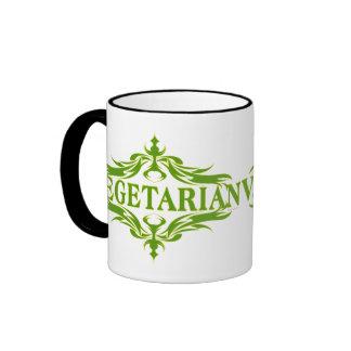 Suposición en el verde - vegetariano taza