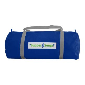 Supper and Songs Duffel Gym Bag