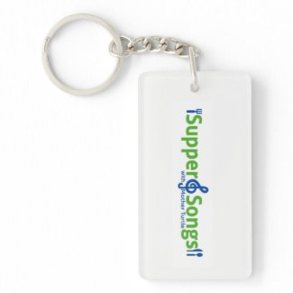 Supper and Songs keychain