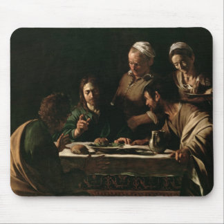 Supper at Emmaus, 1606 Mouse Pad