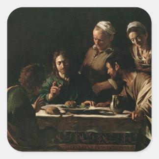 Supper at Emmaus, 1606 Sticker