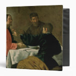 Supper at Emmaus, 1620 3 Ring Binders