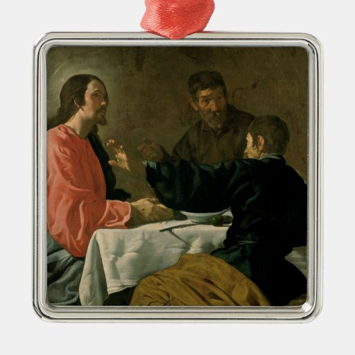 Supper at Emmaus, 1620 Christmas Ornament