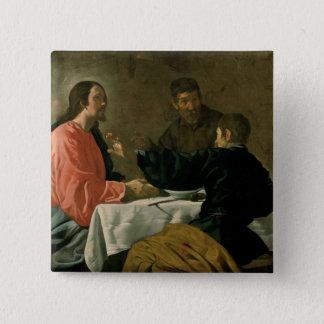 Supper at Emmaus, 1620 Pinback Button